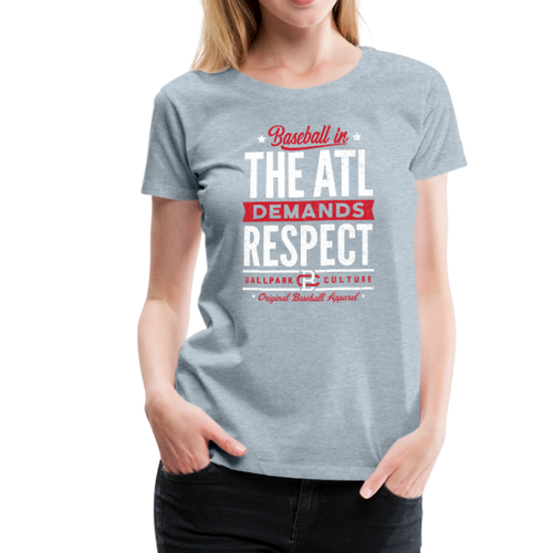 Ladies Atlanta Demands - heather ice blue