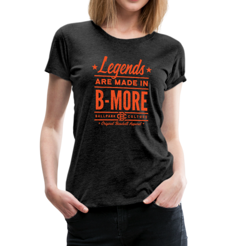 Ladies Baltimore Legends - charcoal gray
