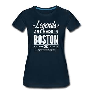 Ladies Boston Legends - deep navy