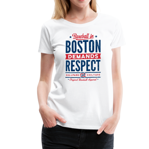 Ladies Boston Demands - white