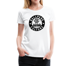Load image into Gallery viewer, Ladies BC Circle Logo (Blk) - white