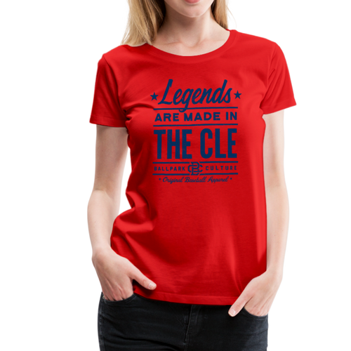 Ladies Cleveland Legends - red