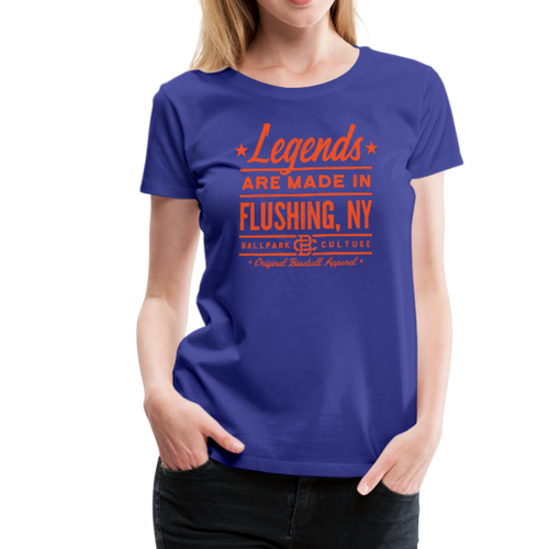 Ladies Flushing Legends - royal blue