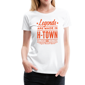 Ladies Houston Legends - white