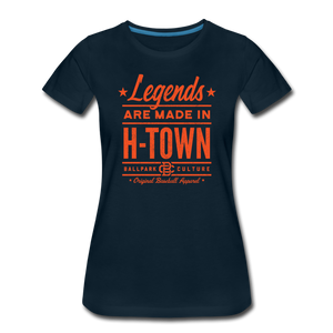Ladies Houston Legends - deep navy