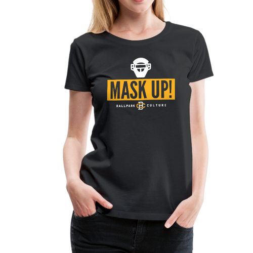 Ladies Mask Up! - black