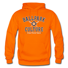 Load image into Gallery viewer, Mens BC Crossed Bats Hoodie - orange