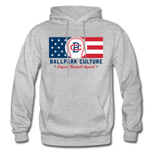 Load image into Gallery viewer, Mens BC Flag Hoodie - heather gray