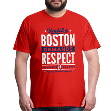 Load image into Gallery viewer, Big Mens Boston Demands - red