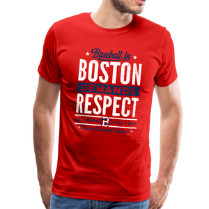Mens Boston Demands - red