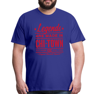 Big Mens Chicago Legends - royal blue