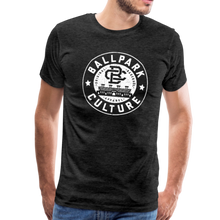 Load image into Gallery viewer, Mens BC White Circle Logo - charcoal gray