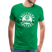 Load image into Gallery viewer, Mens BC White Circle Logo - kelly green