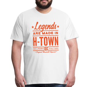 Big Mens Houston Legends - white