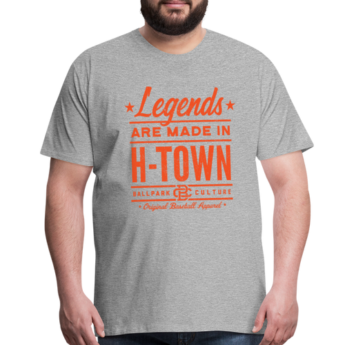 Big Mens Houston Legends - heather gray