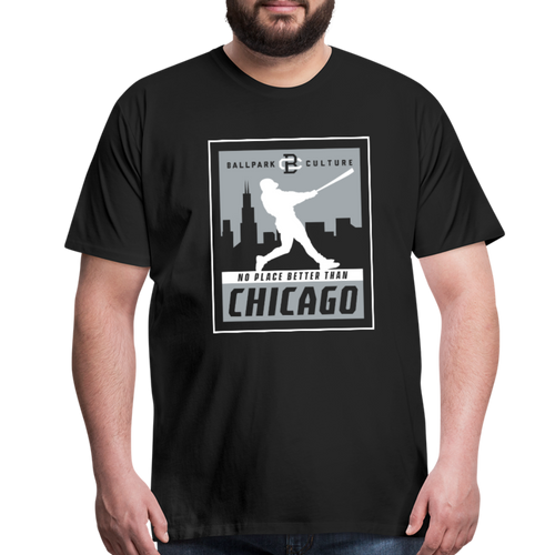 Big Mens No Place Chicago 2 - black