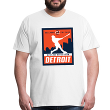Load image into Gallery viewer, Big Mens No Place Better Detroit - white