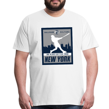 Load image into Gallery viewer, Big Mens No Place Better New York 2 - white