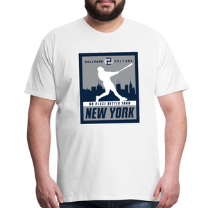 Big Mens No Place Better New York 2 - white
