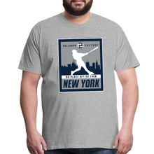 Load image into Gallery viewer, Big Mens No Place Better New York 2 - heather gray