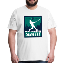 Load image into Gallery viewer, Big Mens No Place Better Seattle - white