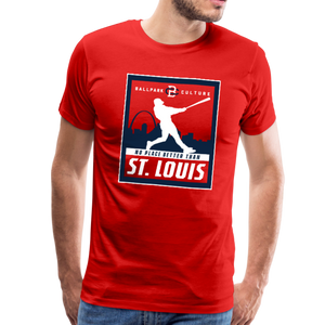 Mens No Place Better St. Louis - red