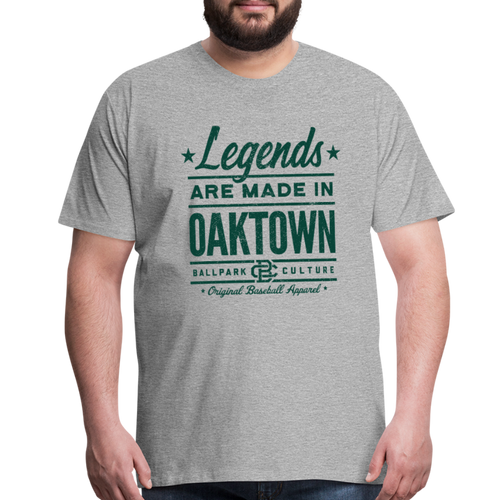 Big Mens Oakland Legends - heather gray