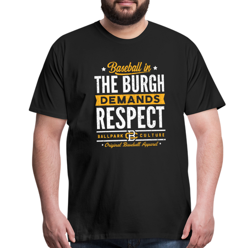 Big Mens Pittsburgh Demands - black