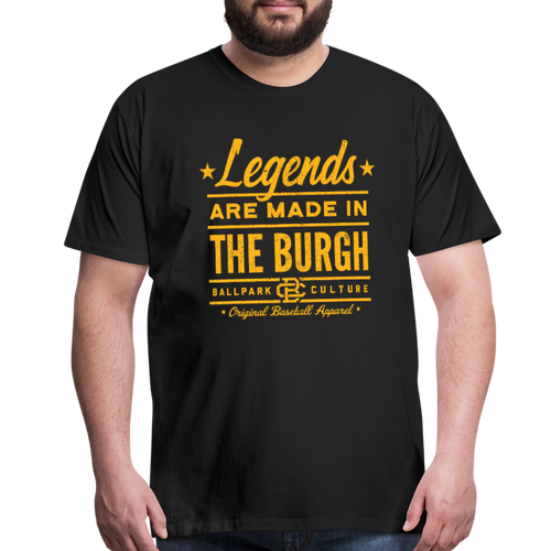 Big Mens Pittsburgh Legends - black