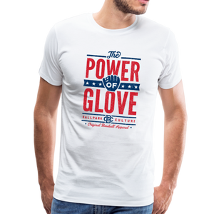 Mens Power of Glove - white