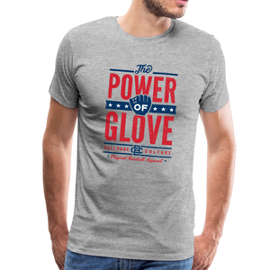 Mens Power of Glove - heather gray