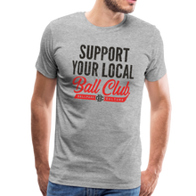 Load image into Gallery viewer, Mens Support Your Local - heather gray