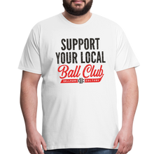 Load image into Gallery viewer, Big Mens Support Your Local - white