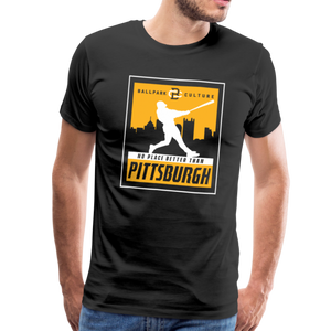 Mens No Place Better Pittsburgh - black