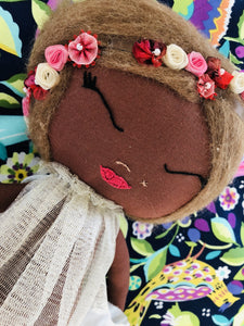 Mermaid Cora  Handmade Doll