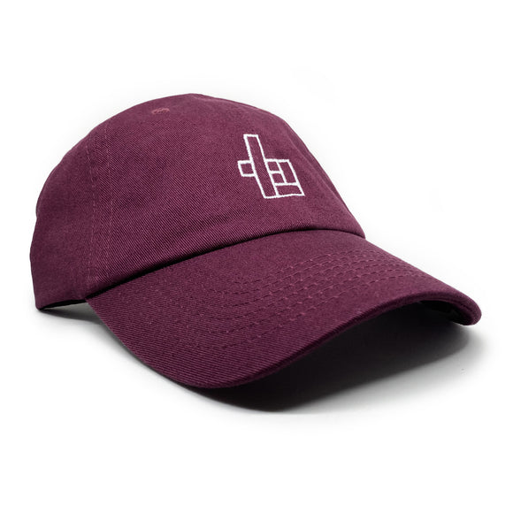 Dad Hat Levels - Bourgogne