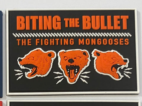 Fighting Mongooses PVC Patch