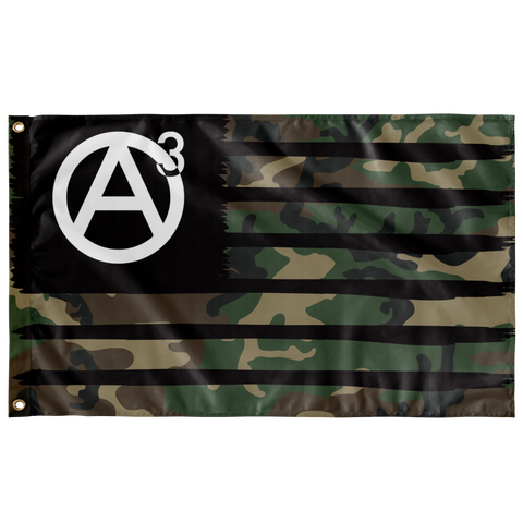 Agorism M81 Single Sided Wall Flag