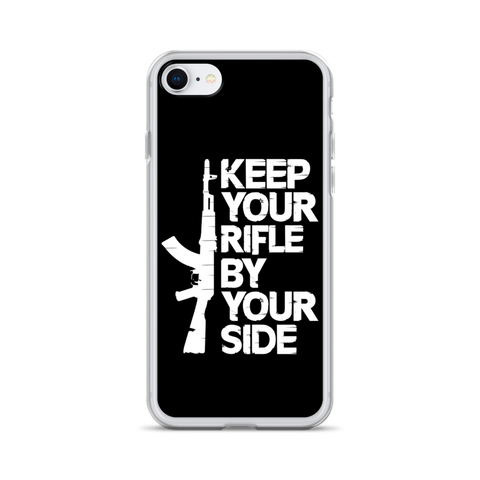Keep Your Rifle By Your Side iPhone Case