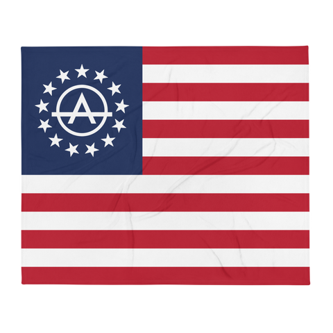 Anarcho Betsy Throw Blanket