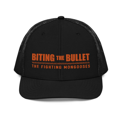 Biting the Bullet Trucker Cap