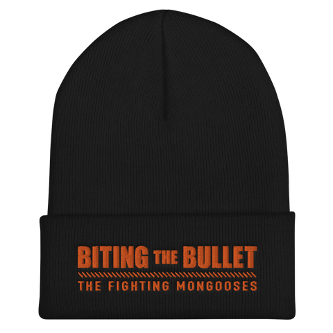 Biting the Bullet Cuffed Beanie