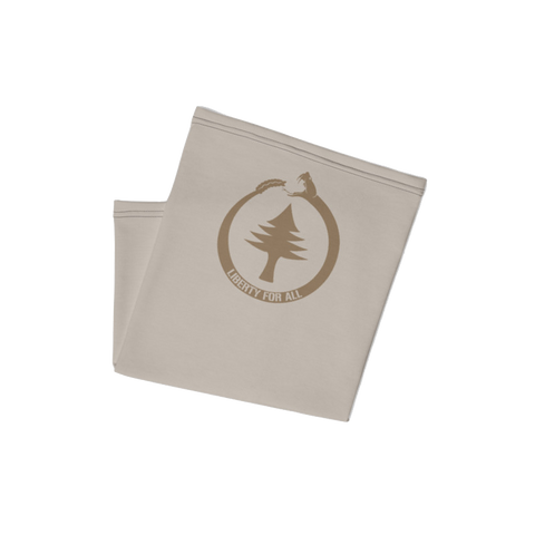 Tan Liberty for All v2 Neck Gaiter