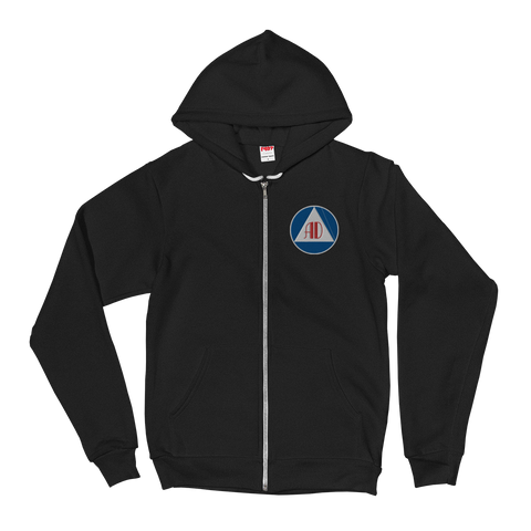 Anarchy Defense Zip Up Hoodie