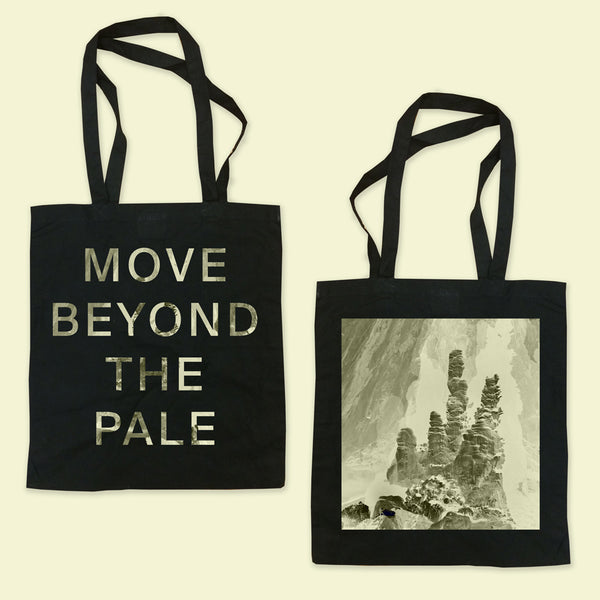 MOVE BEYOND Black Tote Bag