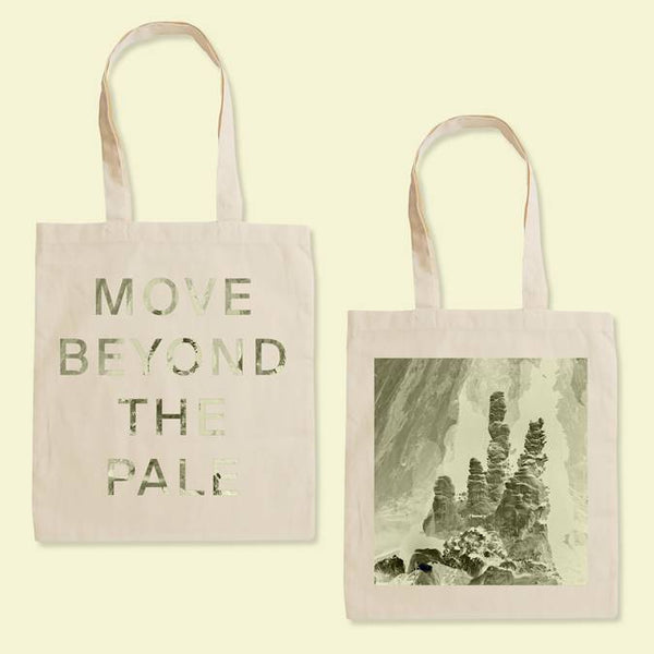 MOVE BEYOND Natural Tote Bag