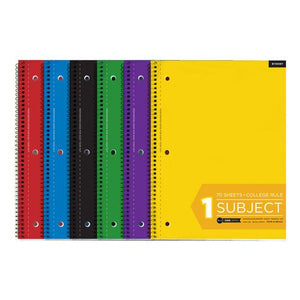 Bulk School Supply College Ruled Spiral Notebooks