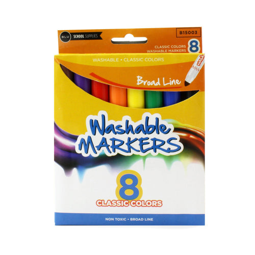 Wholesale School Supplies Broad Line Washable Markers Sold in Bulk