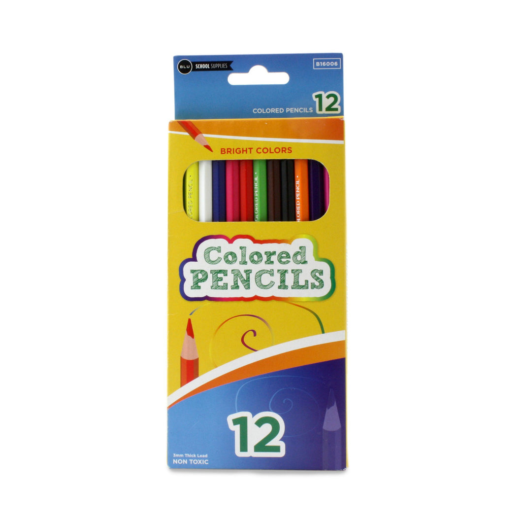 Premium Colored Pencils Sold in Bulk for School Supplies