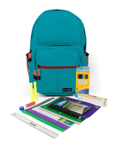K-3rd Grade Kit w/ Backpack (Assorted Colors)